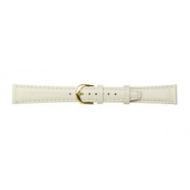 Kožený řemínek k hodinkám A 51 - bílá