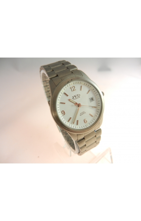 40606da80d0 Pánské hodinky JVD Titanové 014 - hodinkovasklicka.cz