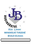 Síla skla 1,5 mm