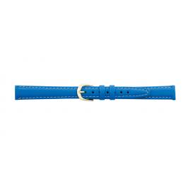 Kožený řemínek k hodinkám A 51 - světle modrá