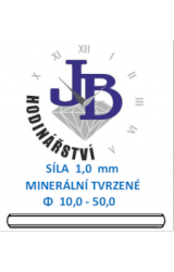 Síla skla 1,0 mm